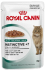 Royal Canin Cat - Royal Canin INSTINCTIVE +7 IN JELLY  (pouches)