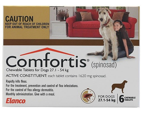 Comfortis Dog - Comfortis Extra Large Dog (Brown) 27.1-54Kg