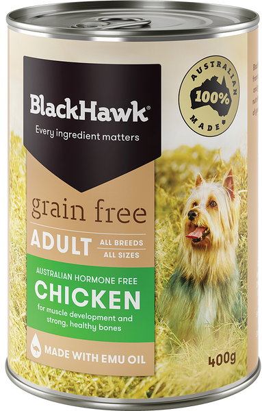 BlackHawk Dog - Grain Free Adult Wet Food Chicken