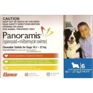 Comfortis Plus - Large Dog 18.1-27kg (Blue) previously Panoramis