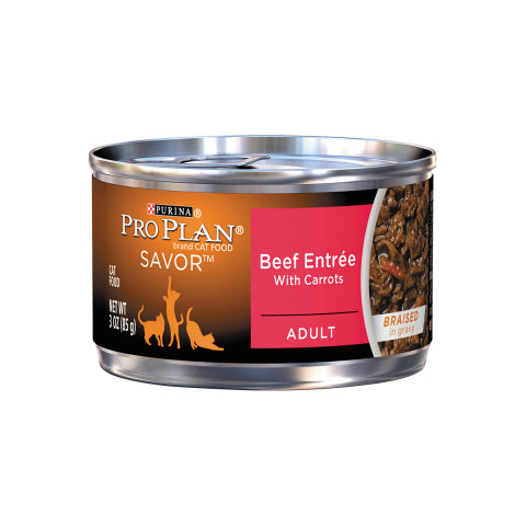 Proplan Cat - Beef Entree with Carrots