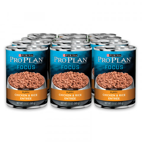 Proplan Dog  - Puppy Chicken & Rice Cans