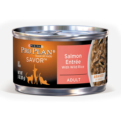 Proplan Cat - Salmon Entree with Wild Rice