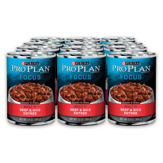 Proplan Dog - Senior Beef & Rice Cans