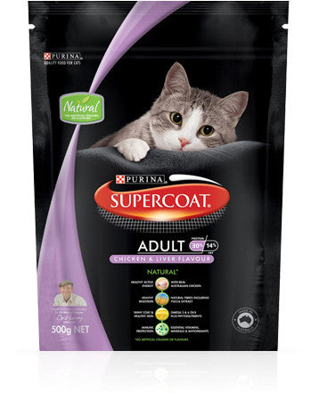 Supercoat Cat - Cat Adult with Chicken & Liver