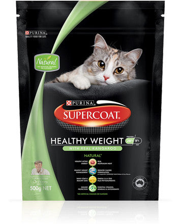 Supercoat Cat - Cat Adult Healthy Weight with Kangaroo