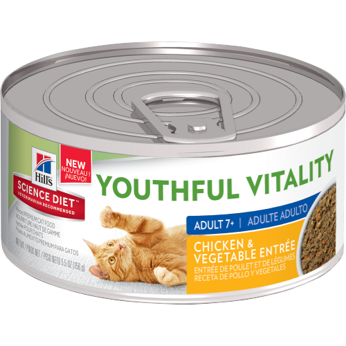Science Diet  Cat - Feline Youthful Vitality Chicken, 7+ years