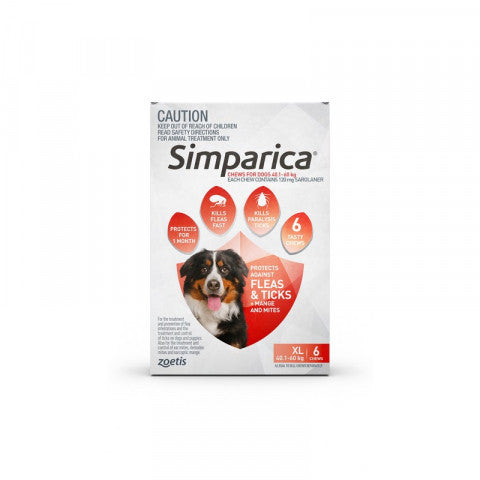 Simparica Dog - Simparica Extra Large Dog 40.1-60kg