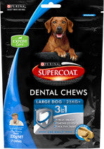 Supercoat- Supercoat Dental Chews Large Dog