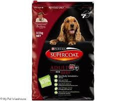 Supercoat Dog - Adult Beef 1 year +