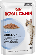 Royal Canin Cat - Royal Canin ULTRA LIGHT IN GRAVY (pouches)