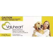 Valuheart - Valuheart Heartworm Tablets Large Dog 21-40kg (Gold)