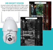 IP Wireless Auto Tracking Waterproof CCTV Security Camera