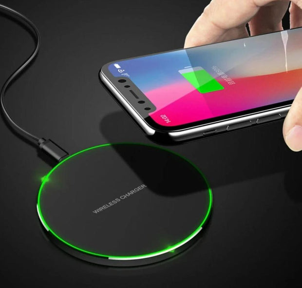 Wireless Charger For iPhone Series and Samsung Series Phones