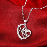 Heart Shape MOM Necklace