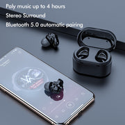 HiFi Stereo Super Bass Bluetooth Wireless Earphones