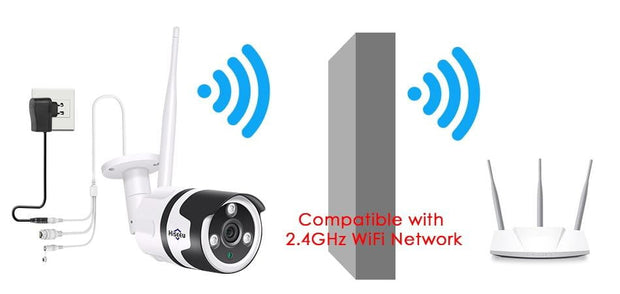 1080P  / 720P Outdoor Waterproof IP Camera