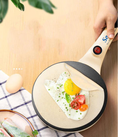 Non-Stick Electric Crepe Maker