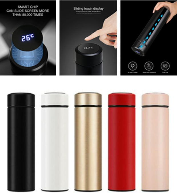 LED Temperature Display Vacuum Flask