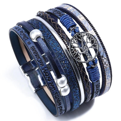 Trendy Bohemian Multilayer Bracelet