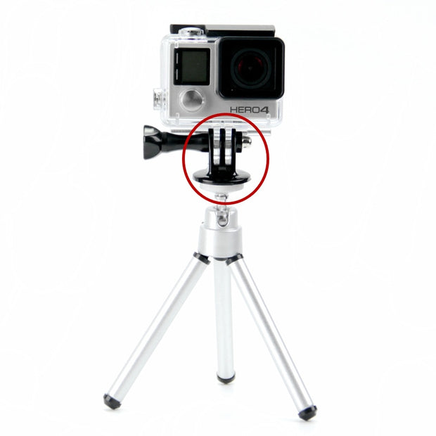 Mini Tripod Adapter Monopod for Go Pro