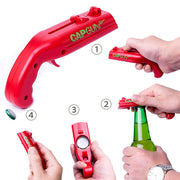 Firing Bottle Cap Gun