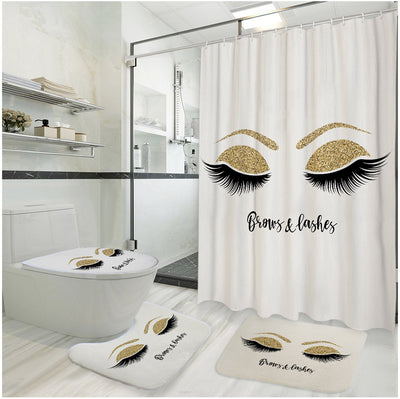 4-Piece Brows and Lashes Bathroom Set
