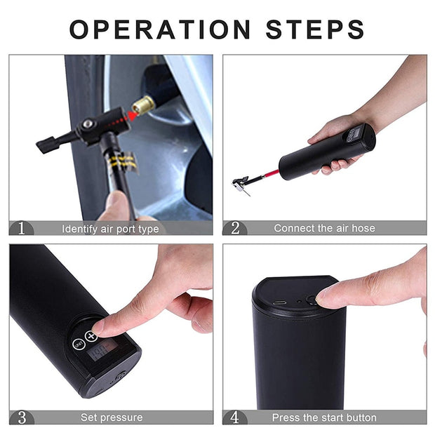 Portable Electric Tire Air Pump