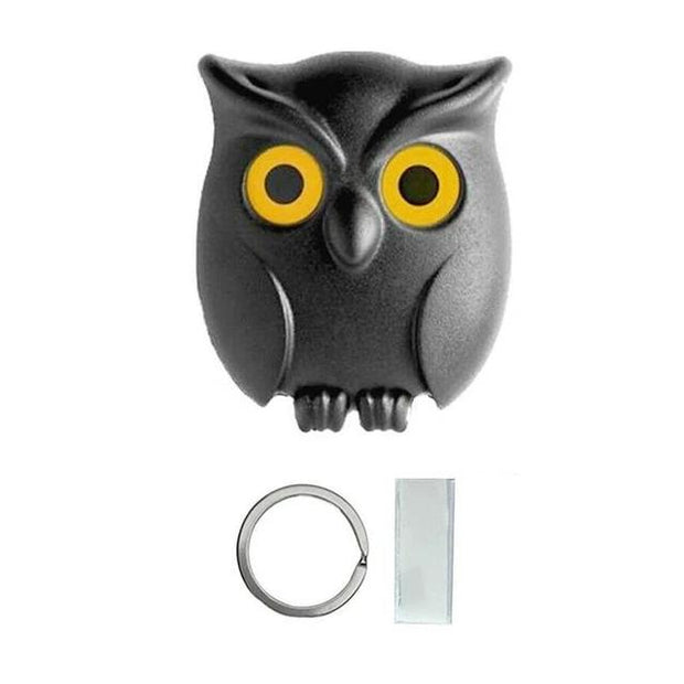 Decorative Owl Shape Keychain Holder