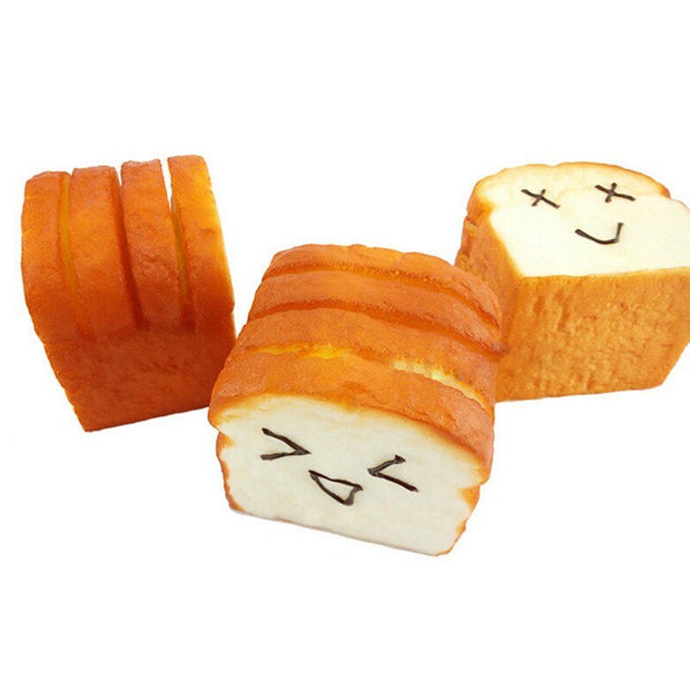 Sliced Bread Antistress Squishy