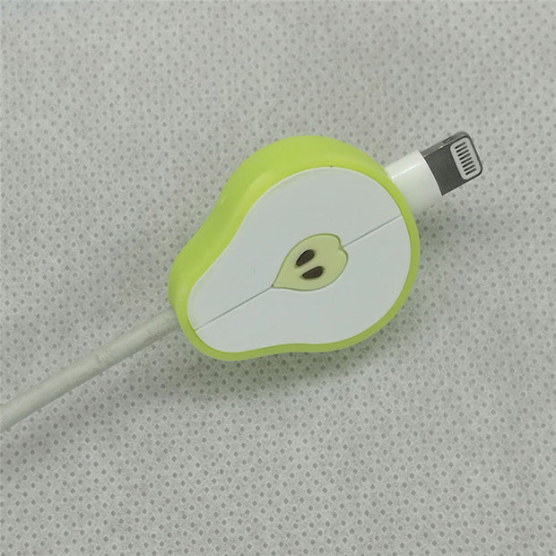 Fruit Shaped Phone Cable Protector