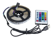 Remote control LED strip light