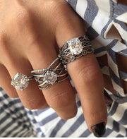 Fashion Knuckle Rings Set