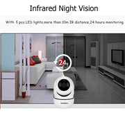 INQMEGA 720P / 1080P Wireless Mini Camera - White