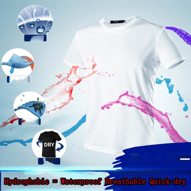 Men's Nano Technology Breathable T Shirt