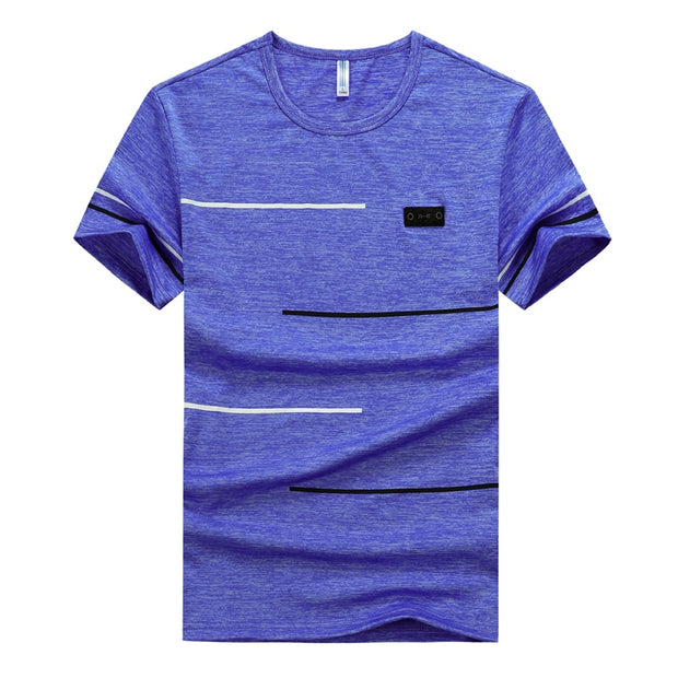Men's Short Sleeve Oversized Casual T Shirt  - Available in Plus Sizes up to  9XL