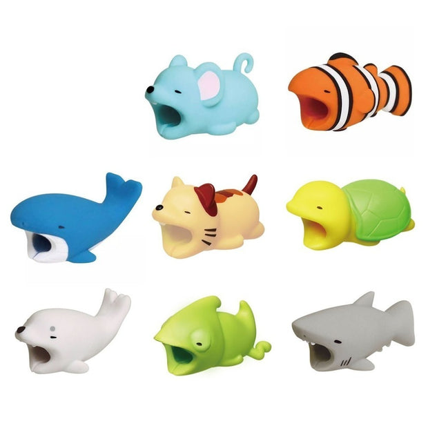 Cute Animal Phone Cable Protector