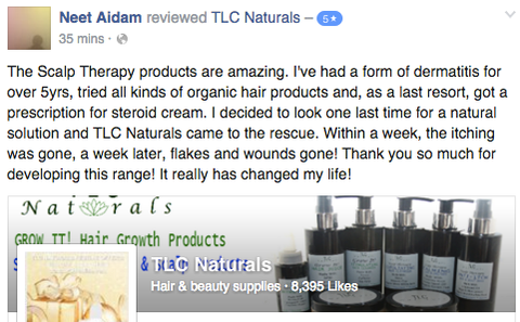 reviews, feedbakc, tlc naturals review, tlc naturals feedback, scalp therapy review, scalp therapy feedback, best eczema products, green beauty, eco, organic, natural hair products, dermatitis, seborrheic dermatitis, remedies,