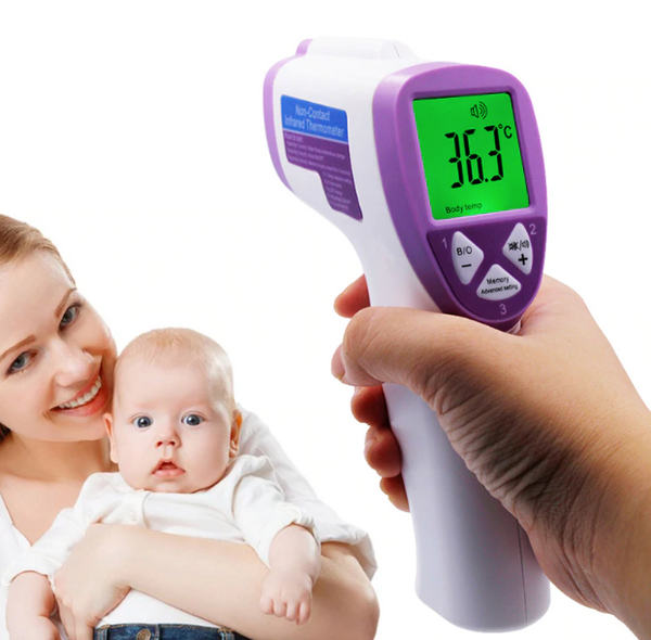 INFRA RED NO CONTACT THERMOMETER ADULTS BABIES