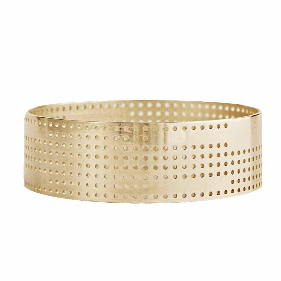 Bangle Perforated Large gold