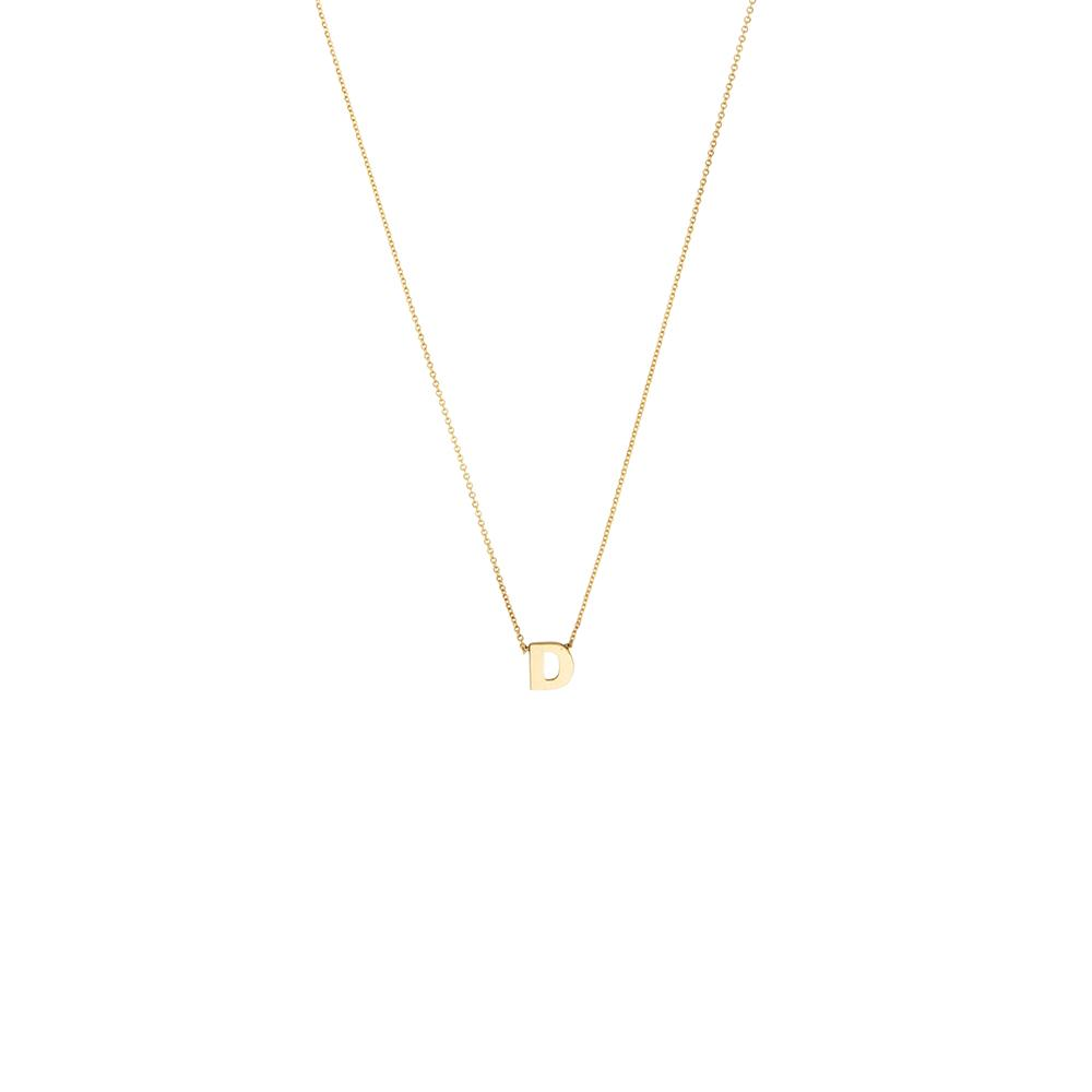 Alphabet Necklace 14ct gold