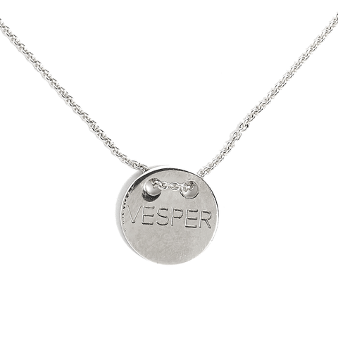 Vesper Necklace silver