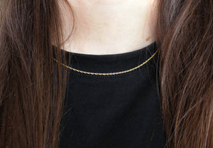 Izzy Necklace gold