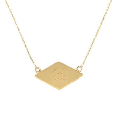 Dusk till Dawn Necklace gold