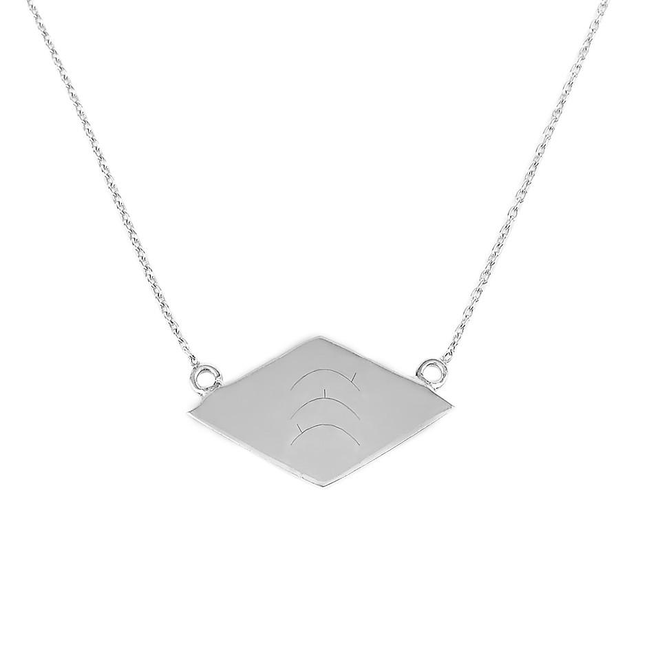 Dusk till Dawn Necklace silver