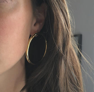 Hades Earring Large gold