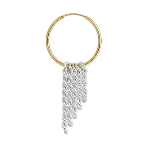 Rosie Earring 14ct gold