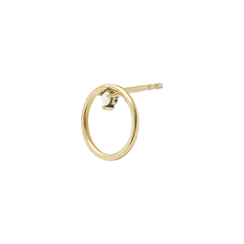 Arya Stud Earring 14ct gold
