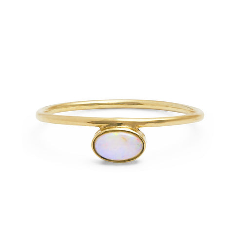 Athena Opal Ring 14ct gold
