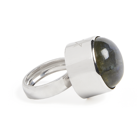 Mystical Light Ring silver